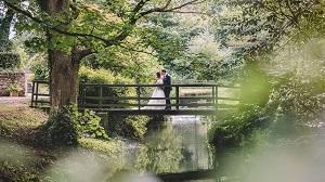 Markington Hall Outdoor Marquee Wedding, Laura and Mikey
