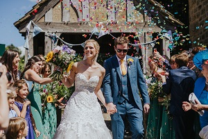 Outdoor Festival Wedding in Leeds, Zoe and Lee