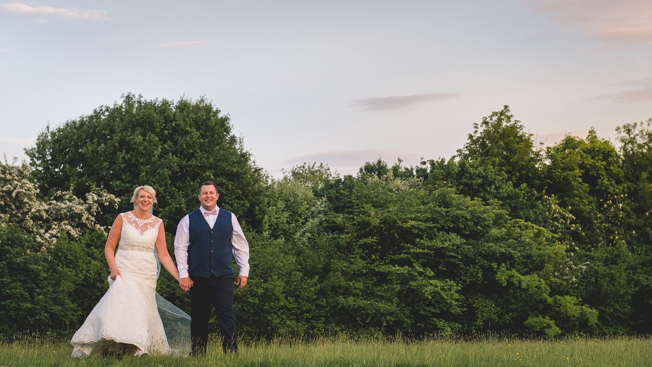 Outdoor wedding in Stirton, North Yorkshire