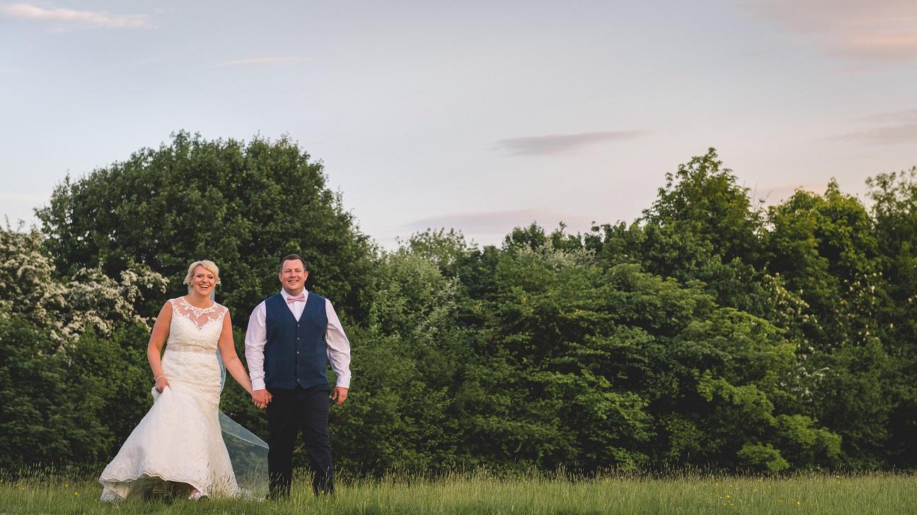 Outdoor wedding in Stirton, North Yorkshire