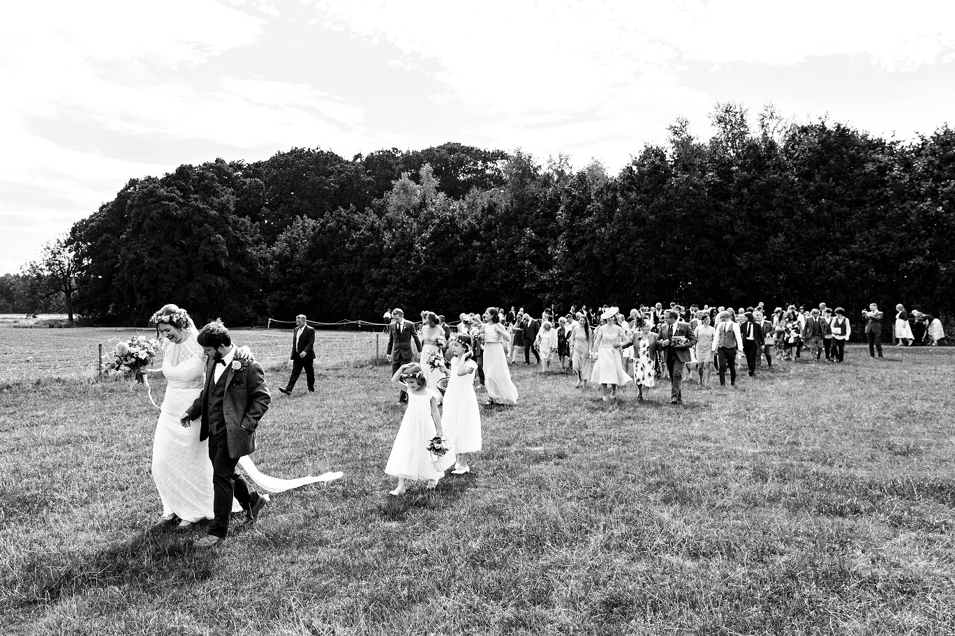 Escrick Park Outdoor Wedding in York