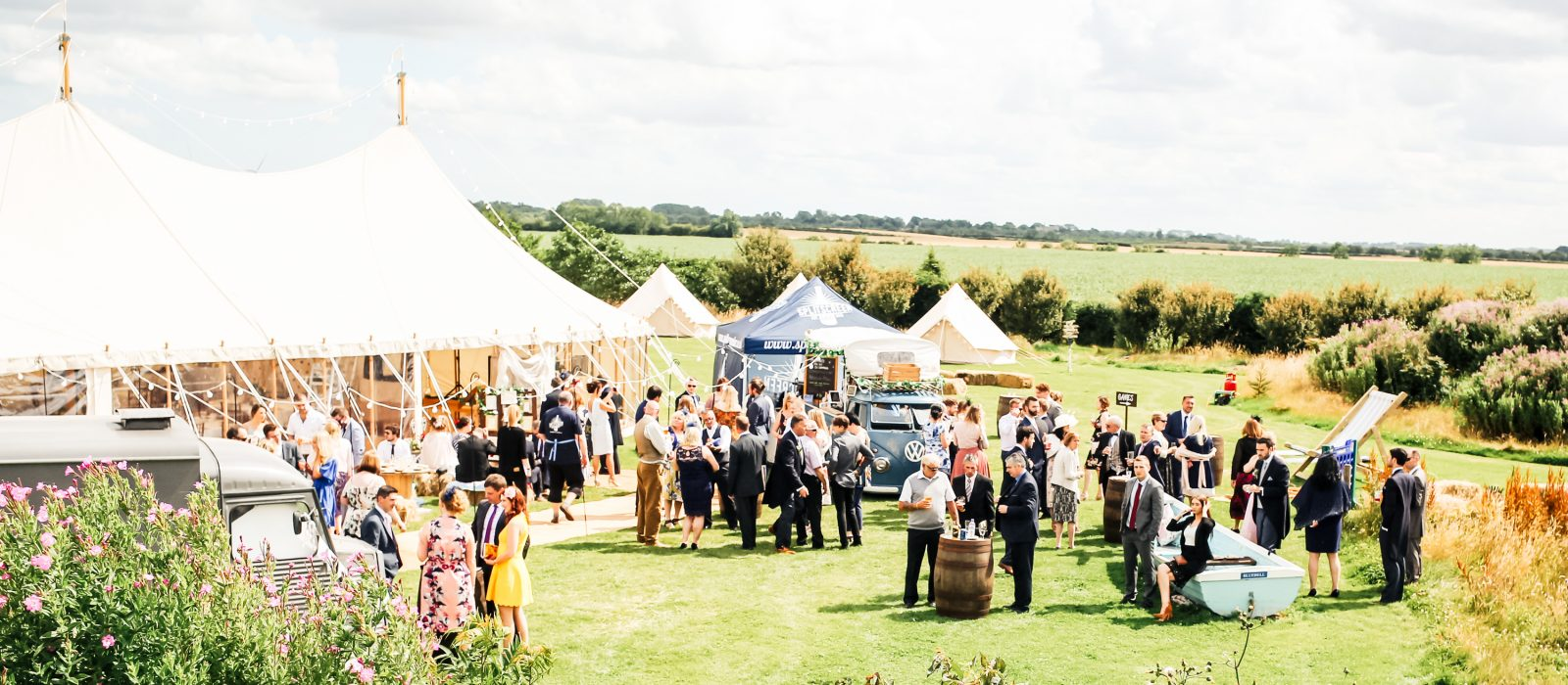 Outdoor Marquee Wedding at Clapham Holme Farm in Hull