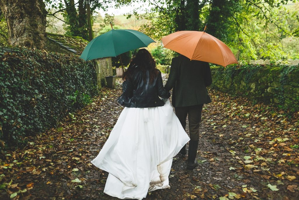 Autumn wedding at Burnsall Village Hall in North Yorkshire
