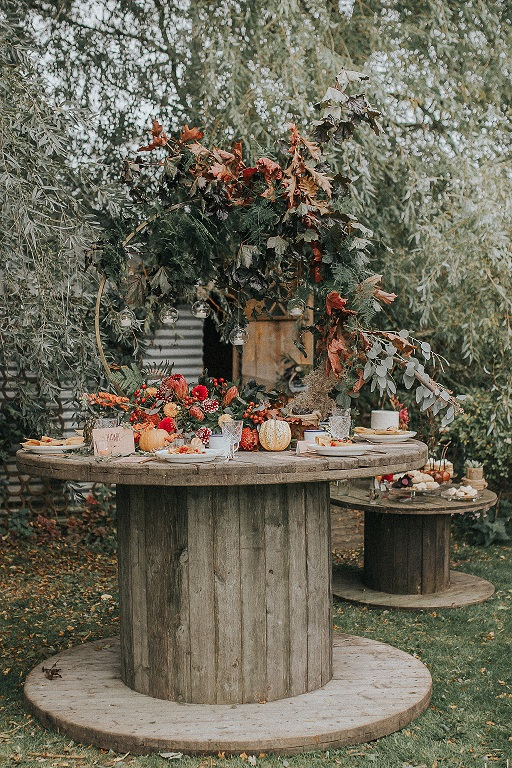 Autumnal wedding inspiration at Skipbridge Country Weddings in York