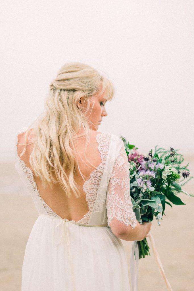 Bespoke wedding dress by Luna Bride