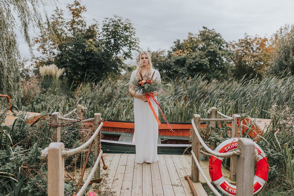 Bride at Skipbridge Country Weddings