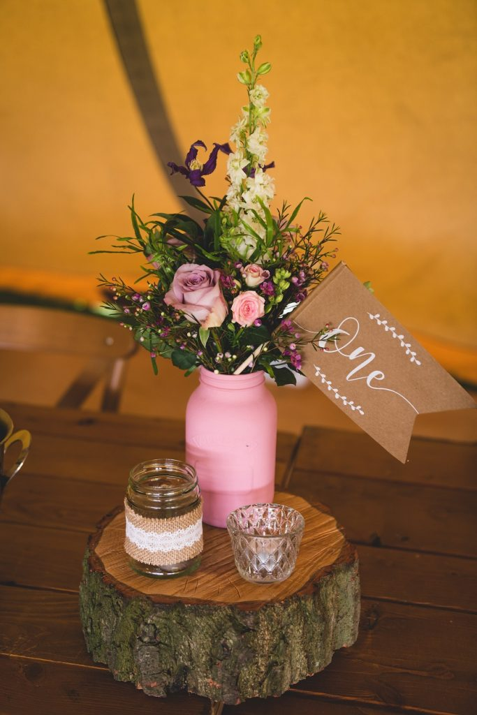DIY rustic wedding ideas