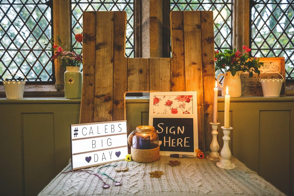 DIY wedding inspiration at Burnsall Village Hall