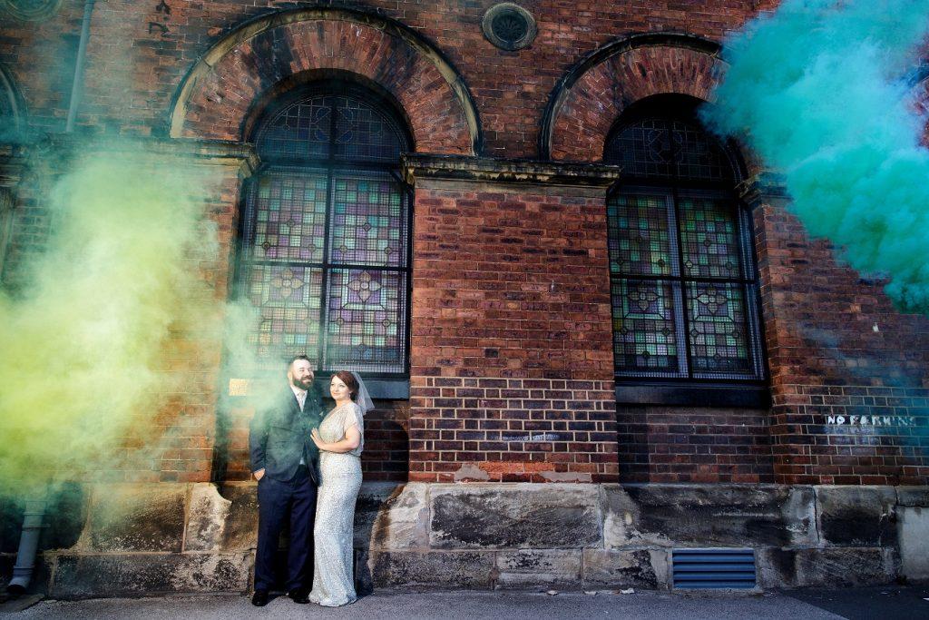Leeds city centre wedding