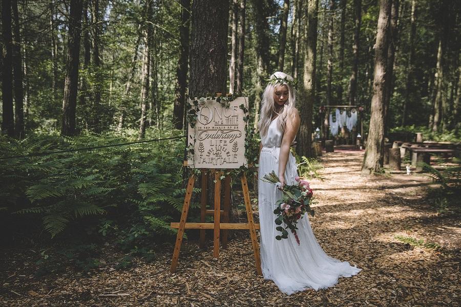 Outdoor wedding inspiration at Camp Katur
