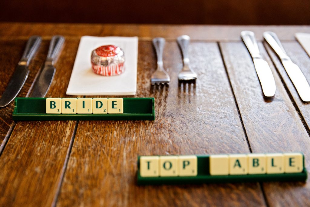 Top wedding table at The Adelphi Pub in Leeds