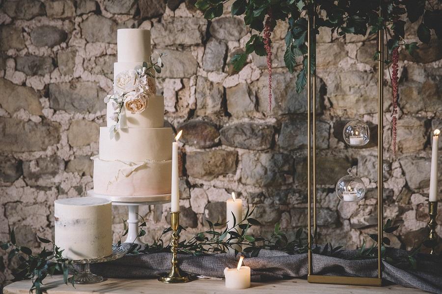 Wedding cake inspiration by White Rose Cake Design at Camp Katur