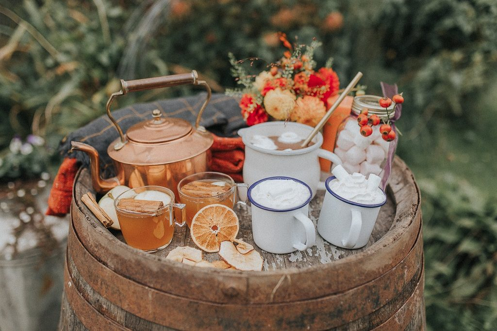 Wedding drinks station inspiration