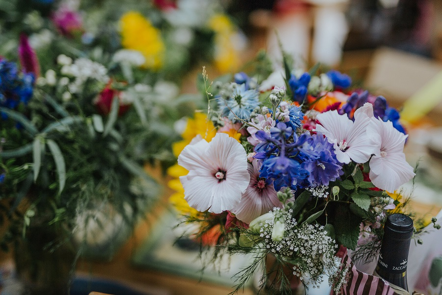 Wedding flowers by The Mindful Florist