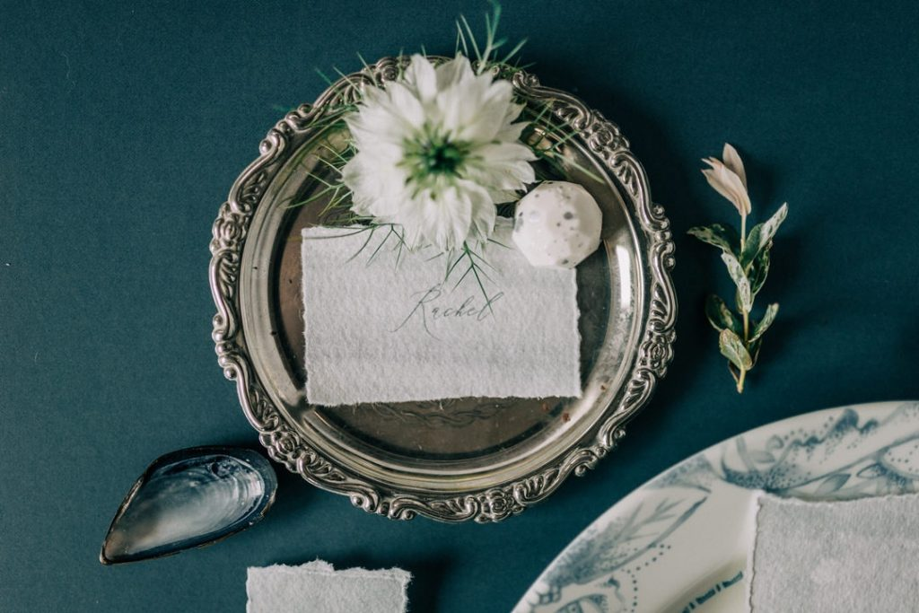 Wedding stationery by Gray Starling Designs
