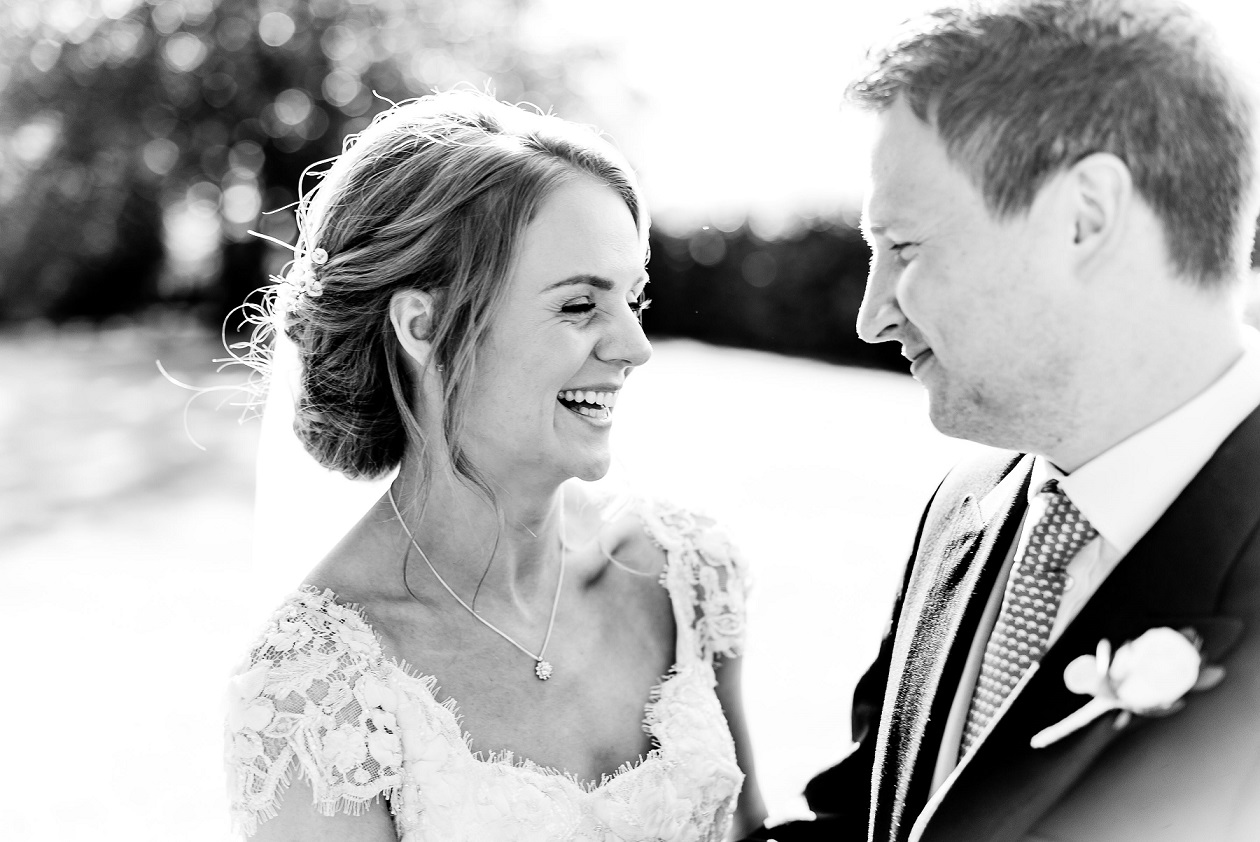 Black and white wedding photography by Joe Dodsworth