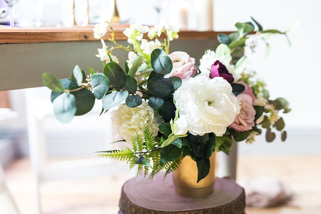 Stunning faux flowers by Deluxe Blooms
