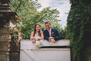 Laura and Mikey at Markington Hall, Summer 2018