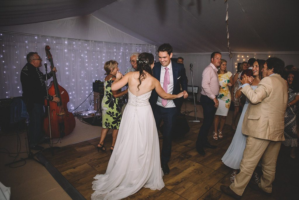 First dance at Markington Hall, North Yorkshire