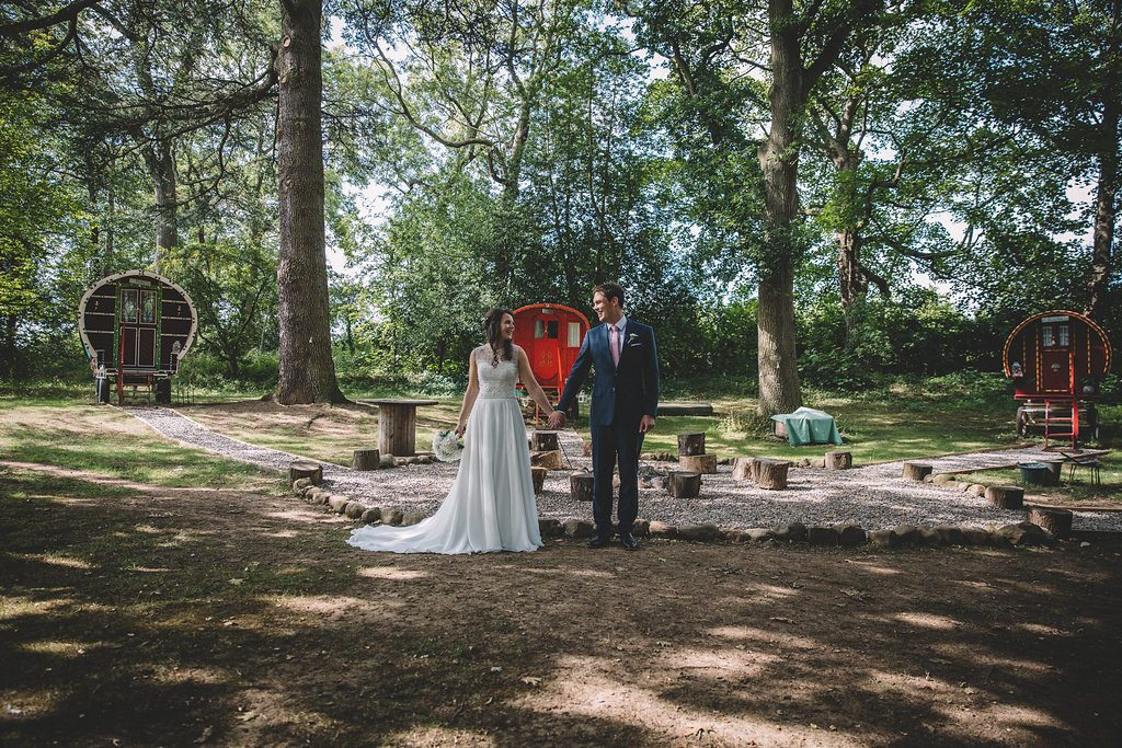 Outdoor wedding venue in North Yorkshire, Markington Hall