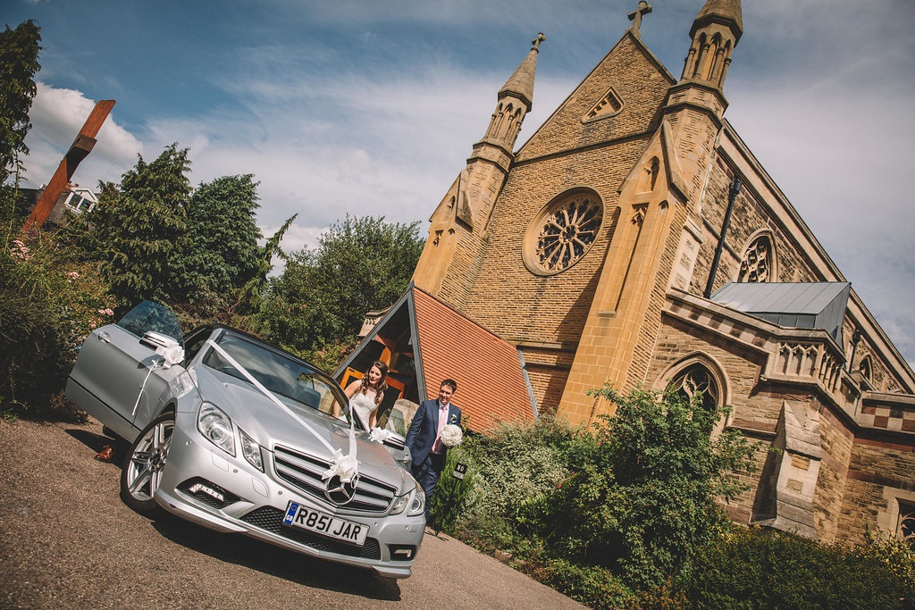Wedding church ceremony in Harrogate, North Yorkshire