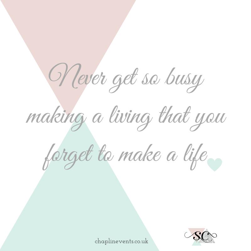 Work life balance quote