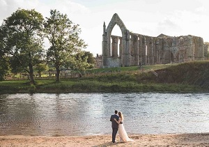 Tithe Barn Bolton Abbey Wedding, Anna and Teddy