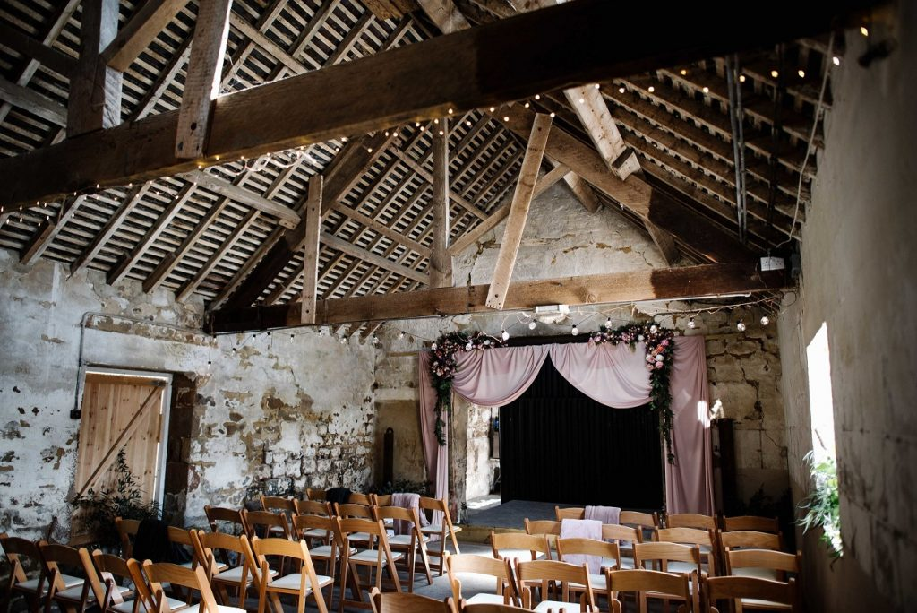 Barn ceremony inspiration at Gratton Grange Farm