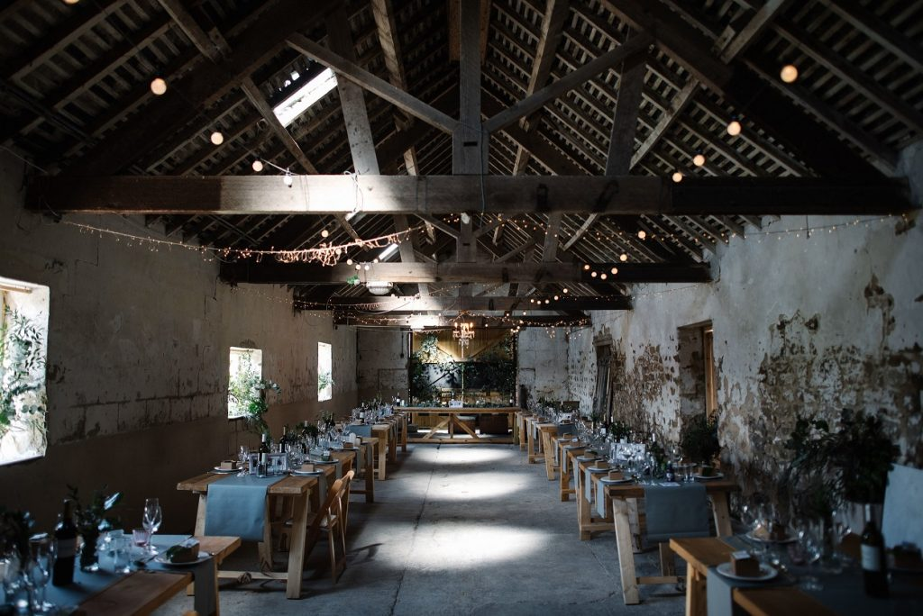 Barn wedding inspiration at Gratton Grange Farm