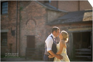 Carly and Richard testimonial, Thwaite Mills wedding