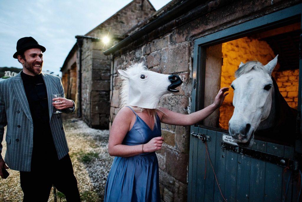 Wedding fun at Gratton Grange Farm
