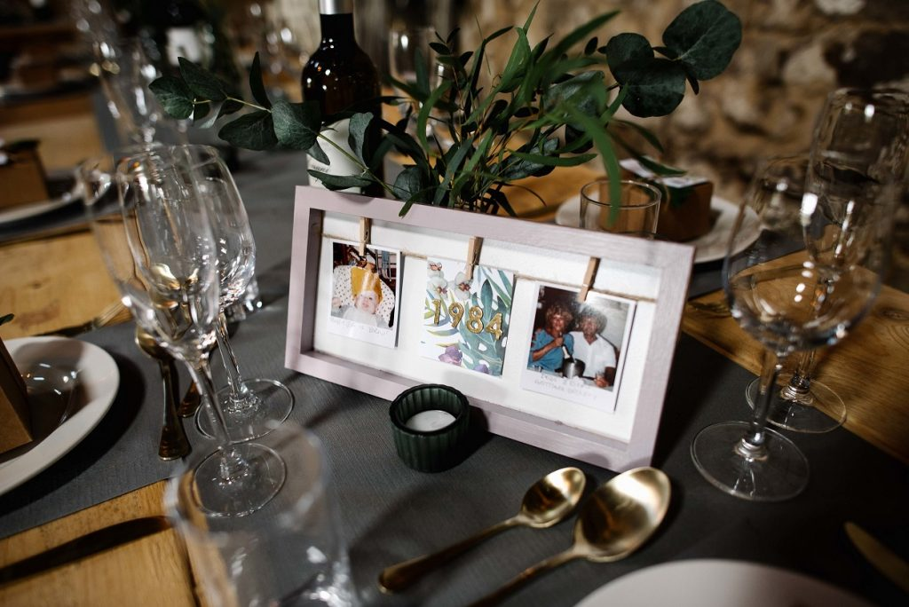 Wedding table DIY ideas