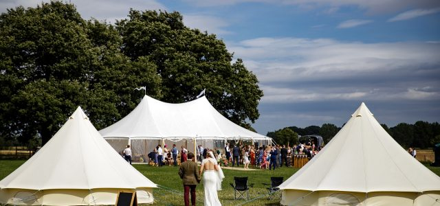 Outdoor Tipi Wedding at Escrick Park in York