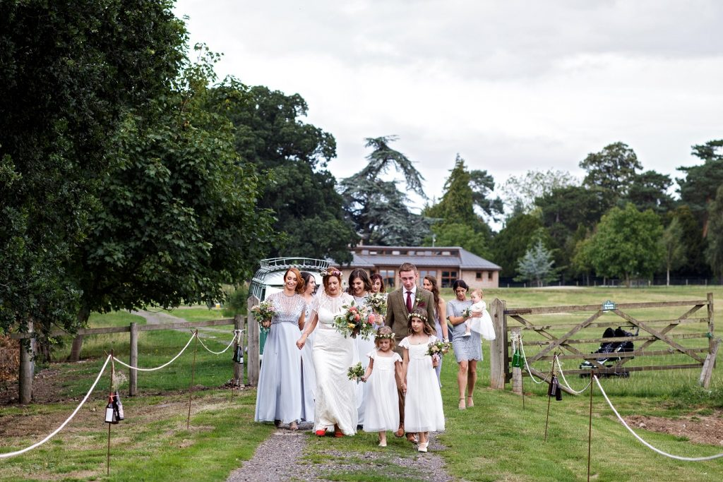 Outdoor Wedding at Escrick Park in York