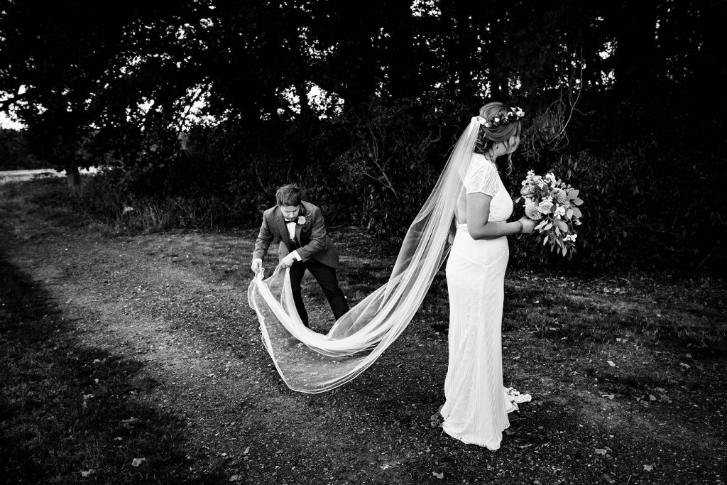 Woodland Ceremony at Escrick Park in York