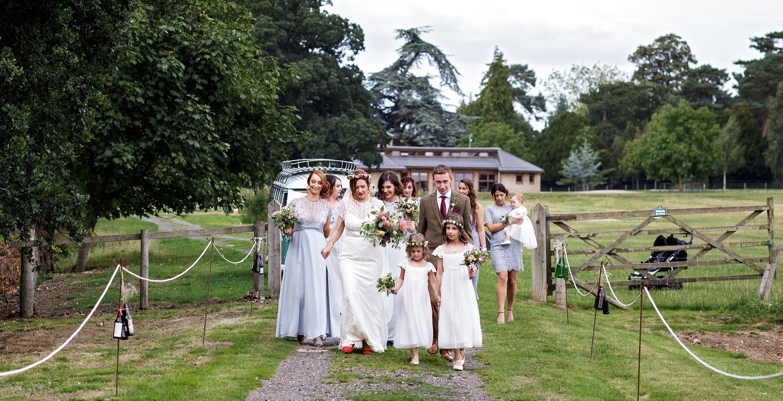 Outdoor Wedding at Escrick Park Estate in York